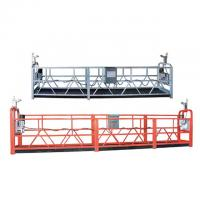 Wholesale Multipurpose Suspended Working Platform , ZLP High Rise Work Platform from china suppliers