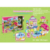 Wholesale Fire Station Building Blocks Educational Toys W / Functions For Age 3 Years Kids 49Pcs from china suppliers