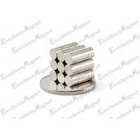 Buy cheap Rare earth Disc / Round Ndfeb Magnet D12x3mm Nickel Plated for Motors from wholesalers