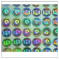 Wholesale Custom print Anti-fake authentic adhesive hologram label ,secure genuine hologram sticker label from china suppliers