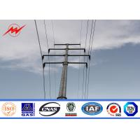 Buy cheap 12m 800Dan Electrical Steel Power Pole For Electrical Line Project from wholesalers