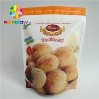 China Food Grade Plastic Pouches Packaging , Matt Stand Up Pouch Bags For Snack on sale