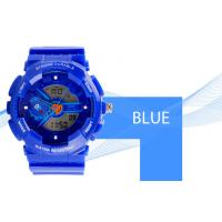 Wholesale Women Dual Time Sports Watch EL Backlight With Japanese Battery from china suppliers