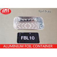 Wholesale FBL10 Aluminium Foil Container Rectangle Shape 600ml Volume 45 Micron Thickness from china suppliers