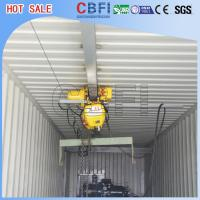 China High Output Commercial Ice Block Maker Machine With 20 Ft 40 Ft Container on sale