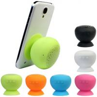 Top quality Wireless Colorful Sucking Mushroom Bluetooth Speaker with MIC