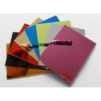 China Plastic Mirror Sheets - Plastic Mirror Sheet Wholesale1220x2440mmx3mm thickness on sale