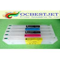 Buy cheap 700ml PHK MBK C M Y Epson Printer Ink Cartridges / Refilled Ink Cartridge with Resettable Chip from wholesalers