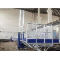 Wholesale Easy Erection Mast Climbing Equipment , Window Cleaning Platform High Safety from china suppliers
