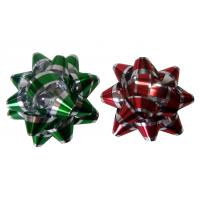 Wholesale Decoration Star Gift Wrap Bows Iridescent Metallic And Holographic Material from china suppliers