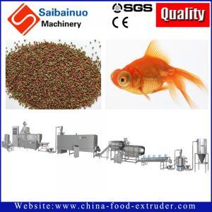 China fish food fish feed processing line making machine for making fish food wholesale