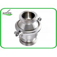 Wholesale Sanitary SS Check Valve , High Temperature Check Valve With Male Thread End from china suppliers