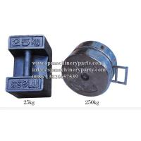 Supplying high-quality precision measurement products 250 lb. Grey Cast Iron Roller Weight OIMl Class M2