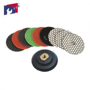 Wholesale 8 Step Diamond Marble Polishing Pads , Premium Granite Polishing Pads from china suppliers