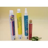 Skin Products Cream Squeeze Tube Packaging Custom Logo / Printing