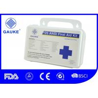 Wholesale Indoor OSHA ANSI First Aid Kit For Business Wall Mountable Small PP Case from china suppliers