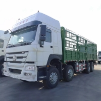 Wholesale 60 Tons LHD Manual 8x4 Sinotruk Howo Cargo Truck from china suppliers