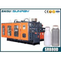 Wholesale 6 Heads Plastic Mold Machine , 250ml Juice Bottle Extruder Blowing Machine SRB80D-6 from china suppliers