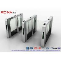 Wholesale DC Servo Motor Speed Gate Turnstile Pedestrian Barrier 600mm-1200mm Passage Width from china suppliers