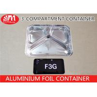 Wholesale F3G Aluminium Foil Products , Aluminum Foil Storage Containers 600ml Volume from china suppliers