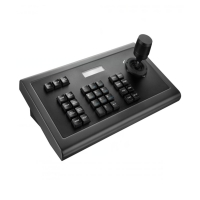China Support PELCO-D,PELCO-P and VISCA Control protocol IP Network PTZ Keyboard Controller For PTZ Video Conference Camera on sale