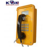 Wholesale Dual Tone Multi Frequency DTMF Waterproof Telephone VOIP Line Ac Powered from china suppliers