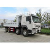 Wholesale Heavy Duty 8 X 4 Tipper Truck Q345 Material , Loading 50 Ton Dump Truck from china suppliers