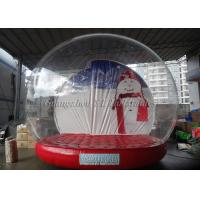 Clear inflatable show ball outdoor christmas snow globe for Outdoor christmas globes