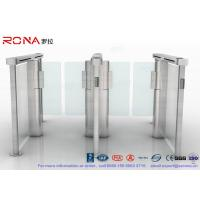 Wholesale CE Approved Speed Gate Turnstile Pedestrian Management Automated Gate Systems from china suppliers