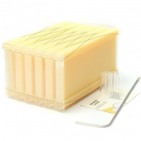 Wholesale 7 Pcs Auto Flow Hive Frames For Harvesting Honey Straight From The Beehive from china suppliers
