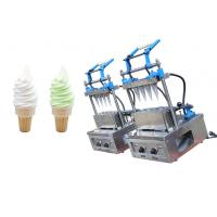 Wholesale SEMI AUTOMATIC ICE CREAM CONE MACHINE WITH 4 MOULD from china suppliers