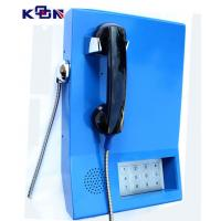 Wholesale 110 120 119 Auto Dial Emergency Phone , Blue Wall Mounting Telephone from china suppliers