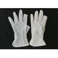Wholesale Half Finger ESD Anti Static Gloves Light Weight 15g Per Pair Class 10 - 1000 from china suppliers