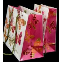 Wholesale Hot stamping gold, embossing Die cutting printed Coloured Paper Bags With Handles (Nylon) from china suppliers
