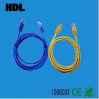 Wholesale network cat5e cat6 patch cord cable with RJ45 plug from china suppliers