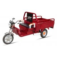 Wholesale Battery Power Electric Cargo Trike Red 3 Wheel Tricycle 6-8 Hours Charge Time from china suppliers