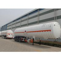 Wholesale 53m3 Volume LNG Tank Truck Trailer / Liquid Natural Gas Tank Semi Trailer from china suppliers