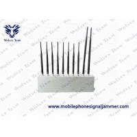 Buy cheap 10 Antenna 10 Bands High Power Signal Jammer 3G 4G GPS WiFi LoJack UHF VHF All from wholesalers