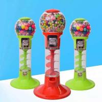 Wholesale 110V 220V Spin Capsule Toy Machine / Gum Bouncy Ball Vending Machine from china suppliers