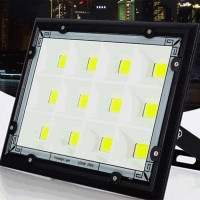 Wholesale 50w to 200w COB Version of AC Power LED Floodlight for Parking Lot from china suppliers