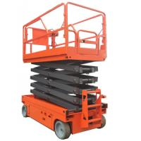 Buy cheap Electric hydraulic lift platform with extension table 9.5m self propelled from wholesalers