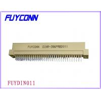 China 96P Plug R Type Vertical Euro DIN 41612 Connector Male Straight PCB Connector on sale