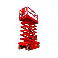 Wholesale 14m Small Electric Scissor Lift 45ft Height Lift Four Wheel Drive GETAS1212 from china suppliers