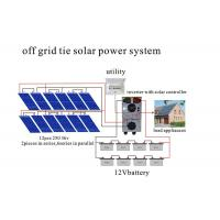 Wholesale AC Load Home Solar Power System , Pure Sine Wave Solar Power Inverter2000 Watt from china suppliers