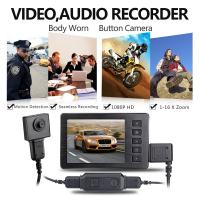 Wholesale Mini Spy Button HD 1920*1080P Video Hidden Camera Camcorder Recorder Cam,Enforcement Recorder from china suppliers