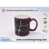Personalized Multi Photo Color Changing Mug , Magic Magnesia porcelain Tea Mugs