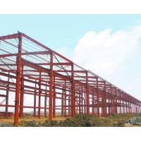 Large Span Warehouse Steel Structure Building Corrosion Resistant High Strength Plate