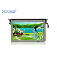 Wholesale Motorized Roof  LCD Touch Screen Monitor 19 Inch Built In SD / USB / HDMI Port from china suppliers