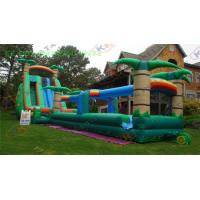 adults inflatable water slide with long slip outdoor