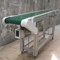 Wholesale Custom Inclined Roller Conveyor , Rubber Belt Roller Bed Conveyor For Logistics Filed from china suppliers
